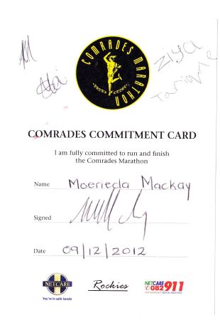 Comrades Commitment 1