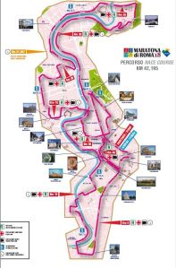 rome marathon course