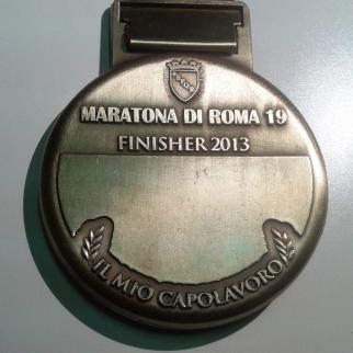 Rome Medal - Back