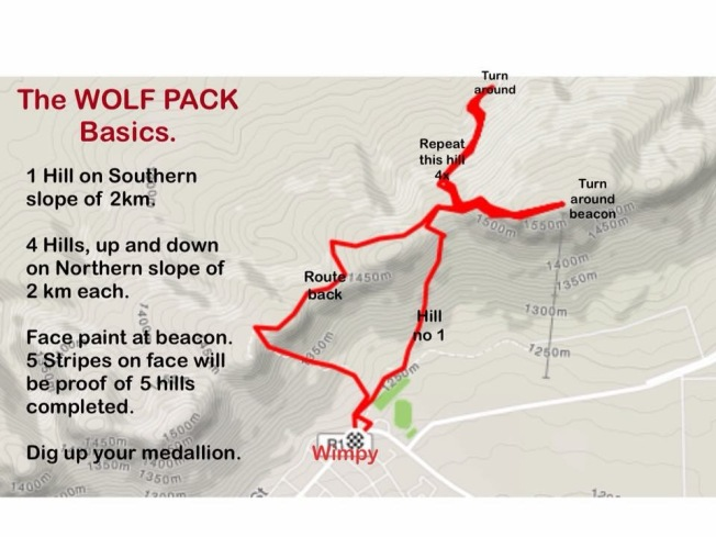 The 5 pack route